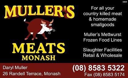Muller's Meats Monash